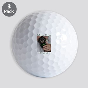 Min Pin Dad Ball Golf Balls