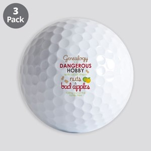 Genealogy Nuts Golf Balls