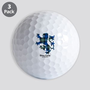 Lion-SinclairUlbster Golf Balls