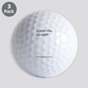 Welcome To The Family Greeting Card Golf Balls