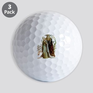 Beauty and the Beast Golf Balls