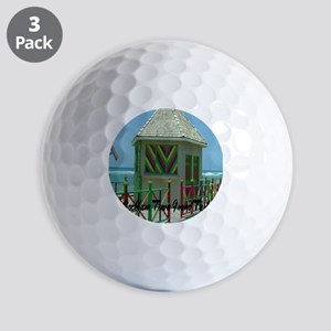 Grand Turk Cockburn Town2.91x4.58 Golf Balls