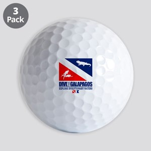 Dive The Galapagos Golf Ball