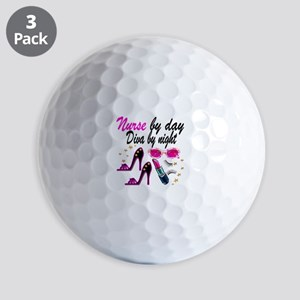 AWESOME NURSE Golf Balls