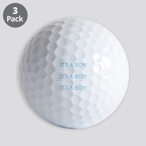 Blue It's a Boy Golf Balls
