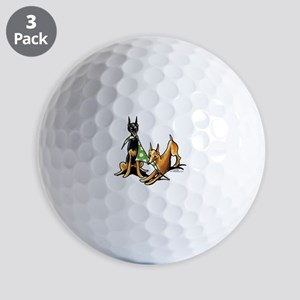 Min Pin Apples Golf Balls