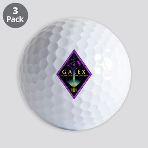 GALEX Program Logo Golf Balls