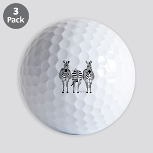 Zebra Power Golf Balls