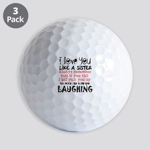 like a sis Golf Balls