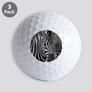 single zebra Golf Balls