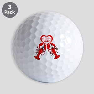 Friends Lobster Golf Balls
