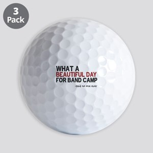 Band Camp Golf Balls