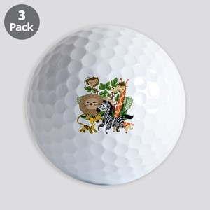 Animal Safari Golf Balls
