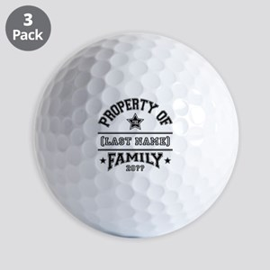 Family Property Golf Balls