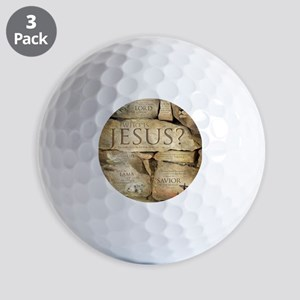 Names of Jesus Christ Golf Balls