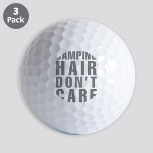 Camping Hair Don't Care Golf Balls