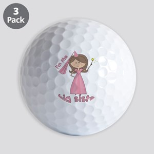 i'm the big sister princess Golf Balls