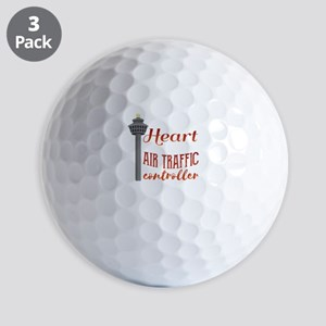My Heart Belongs to an Air Traffic Cont Golf Balls
