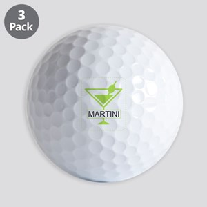 Martini Apple Green Golf Balls