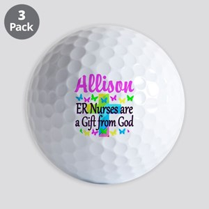 ER NURSE PRAYER Golf Balls
