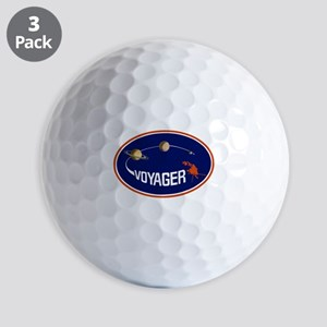 Voyager Program Logo Golf Balls
