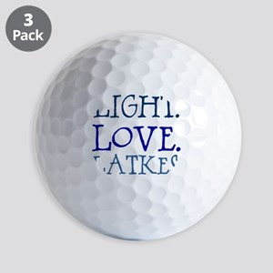 Light. Love. Latkes. Golf Balls