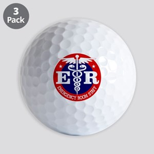 ER Staff Golf Ball