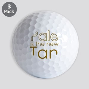 Pale is the new TAN Golf Balls