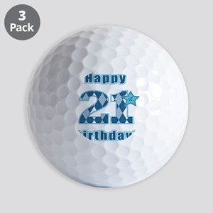 Happy 21st Birthday! Golf Balls
