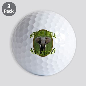 Mad Stogie Cigar Golf Balls