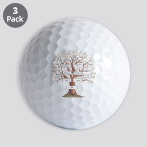 Ancestor Tree Golf Balls