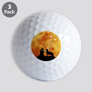 German-Shepherd22 Golf Balls