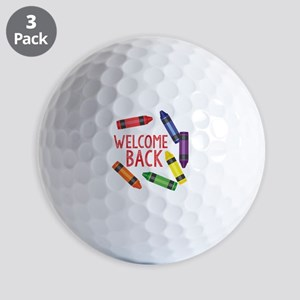 Welcome Back Golf Ball