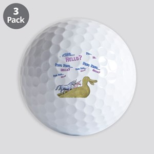 Charlie-D20-BlackApparel Golf Balls