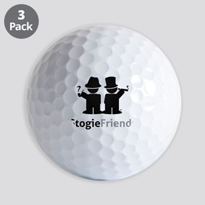 Stogie Friends Swag - Black Design Golf Balls