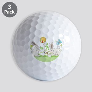 Easter Bunny Golf Ball