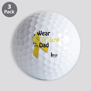 i_wear_yellow_for_my_dad_updated Golf Balls