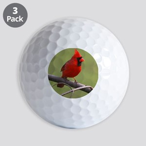 Northern Cardinal Golf Balls