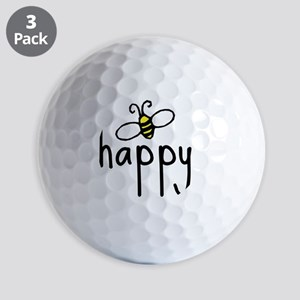 bee_happy Golf Balls