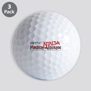Job Ninja Med Asst Golf Balls