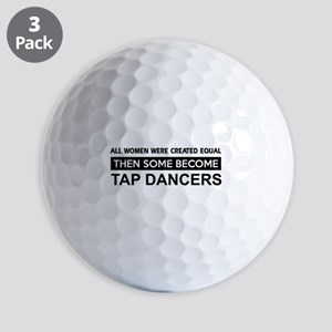 tap dance designs Golf Balls