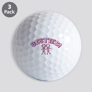 besties-pink Golf Balls