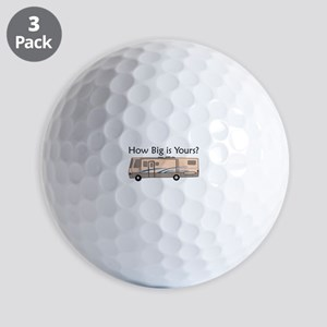 How Big Is Yours? Golf Ball