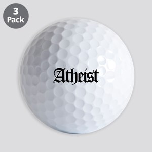 Official Atheist Golf Balls