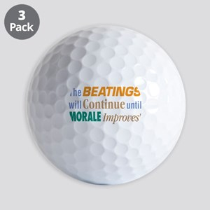 Beatings Will Continue - Golf Balls