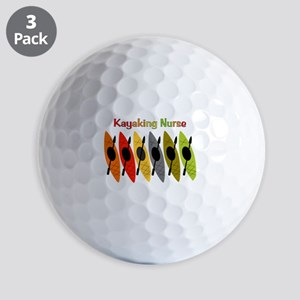 Kayaking Nurse Golf Balls