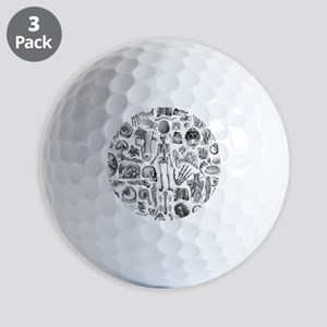 anatomy_W_queen_duvet Golf Balls