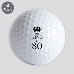 The King Is 80 Golf Balls