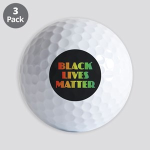 Black Lives Matter Golf Balls