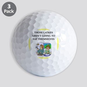 Funny food joke Golf Ball